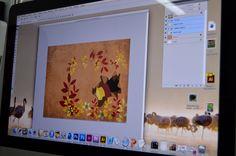 Ayer, hoy y color. Álbum ilustrado de Isabel Ceballos. Work in progress. Bison, Frame, Home Decor, Blue Prints, Colors, Picture Frame, Decoration Home, Room Decor, Frames