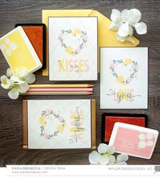 VIDEO: Simple Stamped Valentine's Day Cards with Yana | Stamp Away With Me | Bloglovin'