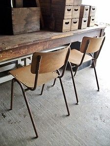 School Chairs On Pinterest Chairs Vintage Chairs And