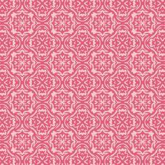 Riley Blake - Summer Song - Pink Summer Damask