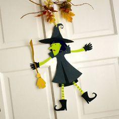 Strega Cartoncino Halloween