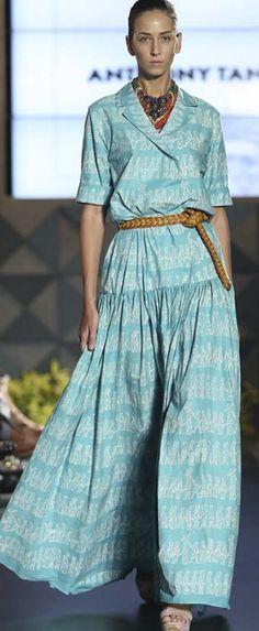 """Kembang Kirana"" for FIMELAFest Batik Fashion Week 2015 Anthony Tandiyono"