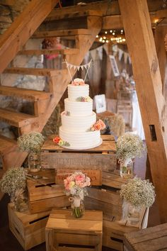 rustic wedding cake decoration ideas