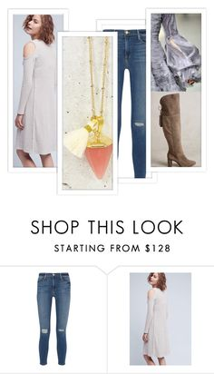 """""""Fancy That"""" by crsevier ❤ liked on Polyvore featuring Frame Denim"""