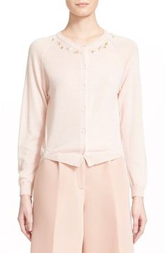 Simone Rocha Wool, Silk & Cashmere Cardigan available at #Nordstrom