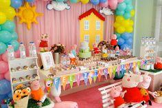Decoração de festas infantis - Locação de peças para decoração - Bolos cenográficos, painéis, Decoração com balões, balões de gas helio