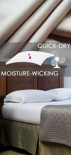 Whether you suffer from night sweats or just get warm when you sleep, Wicked Sheets will provide unmatched comfort and performance. They are the perfect solution for anyone who might suffer from night sweats caused by hyperhidrosis, menopause, cancer treatment, medications or pregnancy.  This advanced fabric does not have a traditional thread count, but is comparable in softness and texture to 600-700 thread count luxury sheets.