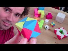 Fabriquer des cubes et polycubes en origami - Micmaths