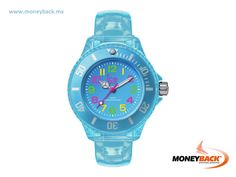 The Ice Happy Mini watch by Ice Watch is a bright and colorful piece with a reduced and compact size but with the same quality that distinguishes the brand, for kids or persons that like smaller wrist watches. Buy in Ice Watch Mexico and get a tax refund with Moneyback! www.moneyback.mx  #moneyback