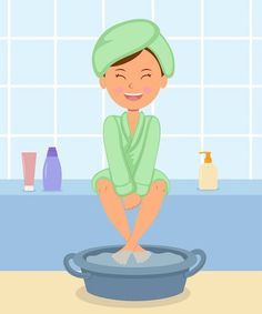 How to purify the body through foot baths Healthy Habits, Healthy Life, Healthy Food, Ion Cleanse, Diy Pedicure, Pet Water Fountain, Spiritual Messages, Body Detox, Reflexology