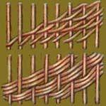 Виды плетения из газет
