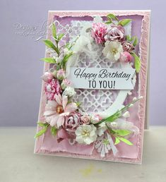 Flowers, Ribbons and Pearls: Shabby Chic with Card Making Magic