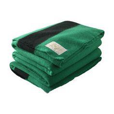 Hudson Bay Green Blanket...yes please!