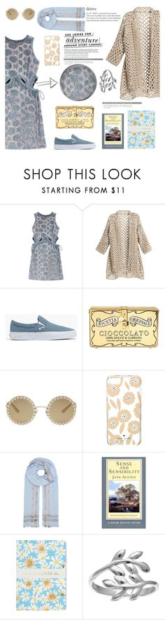 """Derive"" by taci42 ❤ liked on Polyvore featuring self-portrait, Madewell, Dolce&Gabbana, Kate Spade, Claudie Pierlot, Ladurée and Belk Silverworks"