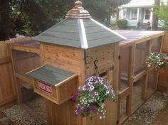 Wife asks for a chicken coop, Husband Contractor comes through in spades!