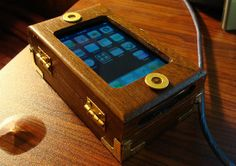 steampunk iphone here's 10 incredible different ones http://1800recycling.com/2011/04/incredible-steampunk-recycle-cell-phones/