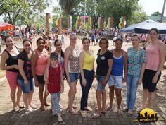 Algumas das integrantes que contribuíram com o dias das Crianças em Leópolis - Parana