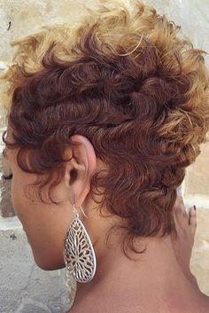 These short black hairstyles are trendy Short Sassy Hair, Girl Short Hair, Short Hair Cuts, Curly Hair Styles, Natural Hair Styles, Short Haircut Styles, Funky Hairstyles, Hairstyles 2018, Medium Hairstyles