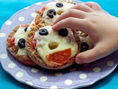 Our family loves English Muffin Pizzas, we switch for white sauce sometimes too. The kids love this!