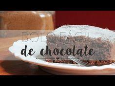 Bolo Fácil de Chocolate - gordelícias