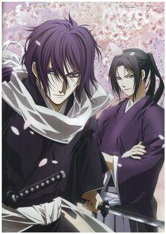 Saito Hajime and Hijikata Toshizo