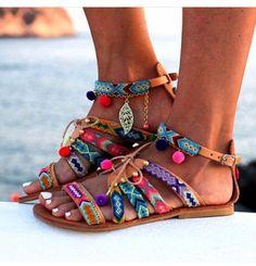 Boho-Summer Sandals