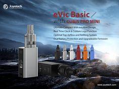 Joyetech eVIC Basic cu Cubis Pro Mini http://www.mahoarca.ro/tigara-electronica-premium.html/joyetech-evic-basic-cubis-pro-mini Cea mai compacta tigara electronica de la Joyetech , combina dimensiuna extrem de redusa cu toate functile avansate pe care un vaper le poate dorii.