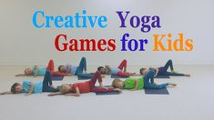 Creative yoga games for Kids - Forest Abc Yoga, Yoga Teacher Training Bali, Yoga Games, Family Yoga, Yoga Youtube, Yoga Books, Physical Development, Facts For Kids, Yoga For Kids