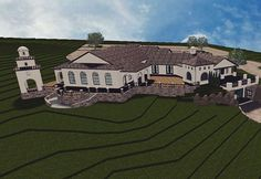 Almost complete!  Event Center and Tasting Room at Umbra Winery at La Buena Vida Vineyards!