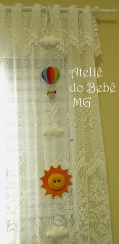 Ateliê do Bebê MG: Pingente de cortina