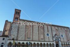 Church of San Domenico, Prato, Tuscany, Italy — Stock Photo