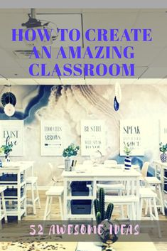 51 Best classroom decoration ideas for elementary school including bulletin boards, signs, storage, creating a reading corner, an amazing teacher space and more.#classroomdecor