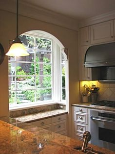 Sunken bay window