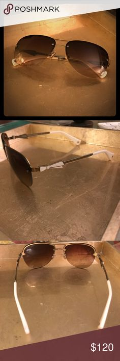 ee258a54f2 Spotted while shopping on Poshmark  Coach Women s Aviator Sunglasses.