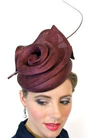 Fashion hat Aphrodite, designed by Melbourne milliner Louise Macdonald