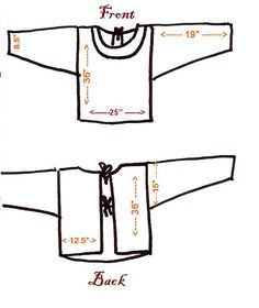 November Tutorial: Kappogi-Traditional Japanese Apron. It Looks Like A Jacket But It Is An Apron! From mybyrdhouse.blogspot.com