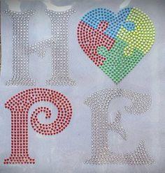 Hope Autism by BlingU on Etsy