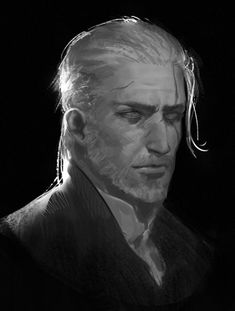 The Witcher Geralt of Rivia The Witcher Game, The Witcher Geralt, Witcher Art, Character Concept, Character Art, Concept Art, Character Design, Fantasy Rpg, Medieval Fantasy