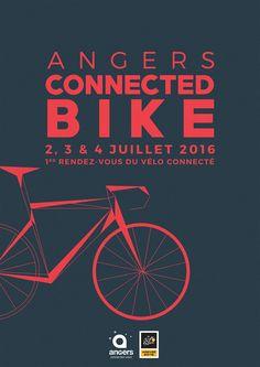 A l'occasion de l'arrivée de la troisième étape du Tour de France le 4 juillet, #Angers organise le premier rendez-vous du vélo connecté.