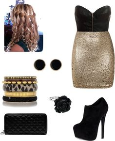 """""""Night Out"""" by llkdancer ❤ liked on Polyvore"""
