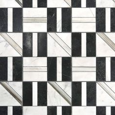 Grounded in pattern – the @AnnSacks Liaison TIle by @kellywearstler brings this…