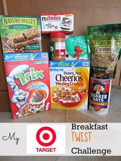 SavingSaidSimply.com: My Target Breakfast Twist Challenge + More Recipe Ideas #BreakfastTwist #sponsored