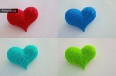 Сердечко крючком