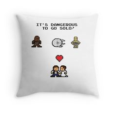 Its Dangerous to go solo star wars valentines day gift