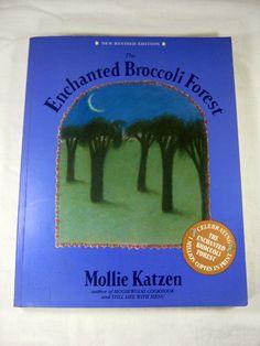 All those yummy veggie recipes…revised! Vintage ENCHANTED BROCCOLi FOREST COOKBOOK Mollie Katzen by LavenderGardenCottag