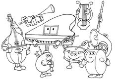 Musical-instruments Coloring Pages for kids. Musical-instruments Coloring Pages. 33 coloring pages of Musical Instruments. Kindergarten Music, Preschool Music, Music Activities, Teaching Music, Cool Coloring Pages, Printable Coloring Pages, Coloring Sheets, Coloring Books, Music For Kids
