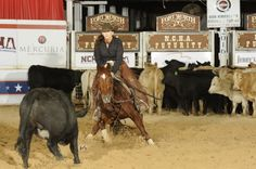 Very Nice Four Year Old Cutting Show Mare for Sale - For more information click on the image or see ad # 71141 on www.RanchWorldAds.com