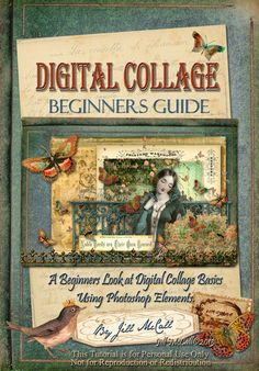 Digital Collage Beginners Guide by Jill McCall©2013