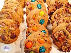 American cookies aux friandises