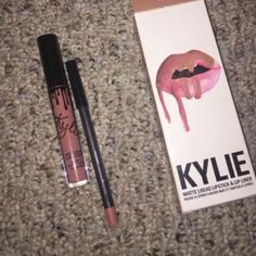Kylie lip kit candy k I have kourt k, true brown k, dolce k and candy k for sale. Email for serious inquiries: lilianaawhite17@aol.com Kylie Cosmetics Makeup Lipstick